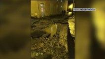 """""""C'était comme un tsunami"""" Une vague de boue s'abat sur le village de Baudean (Hautes-Pyrénées) après un violent orage"""