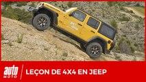Stage de pilotage 4x4 à la Jeep Academy