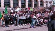 Green Friday, marche pour le climat des jeunes