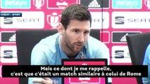 Leo Messi n'a toujours pas digéré le fiasco du Barça à Liverpool
