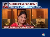 The Indian voter has matured politically, says Smriti Irani