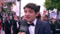 Niels Schneider parle de son travail avec Virginie Efira dans le film Sybil - Cannes 2019