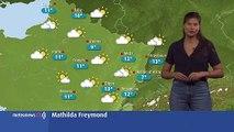 Le temps ce samedi : temps sec avec des risques d'orages, températures douces