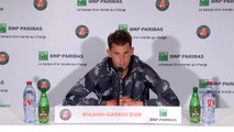 Dominic Thiem looks ahead to the French Open