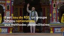 Qui est Narendra Modi, réélu Premier ministre de l'Inde?