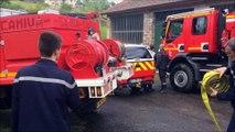 Exercice grandeur nature pour les pompiers de la Loire et de la Haute-Loire
