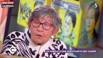 Tags antisémites sur les portraits de Simone Veil : Une survivante de camp de concentration réagit (vidéo)