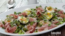 How to Make Asparagus Salad with Eggs & Cured Ham