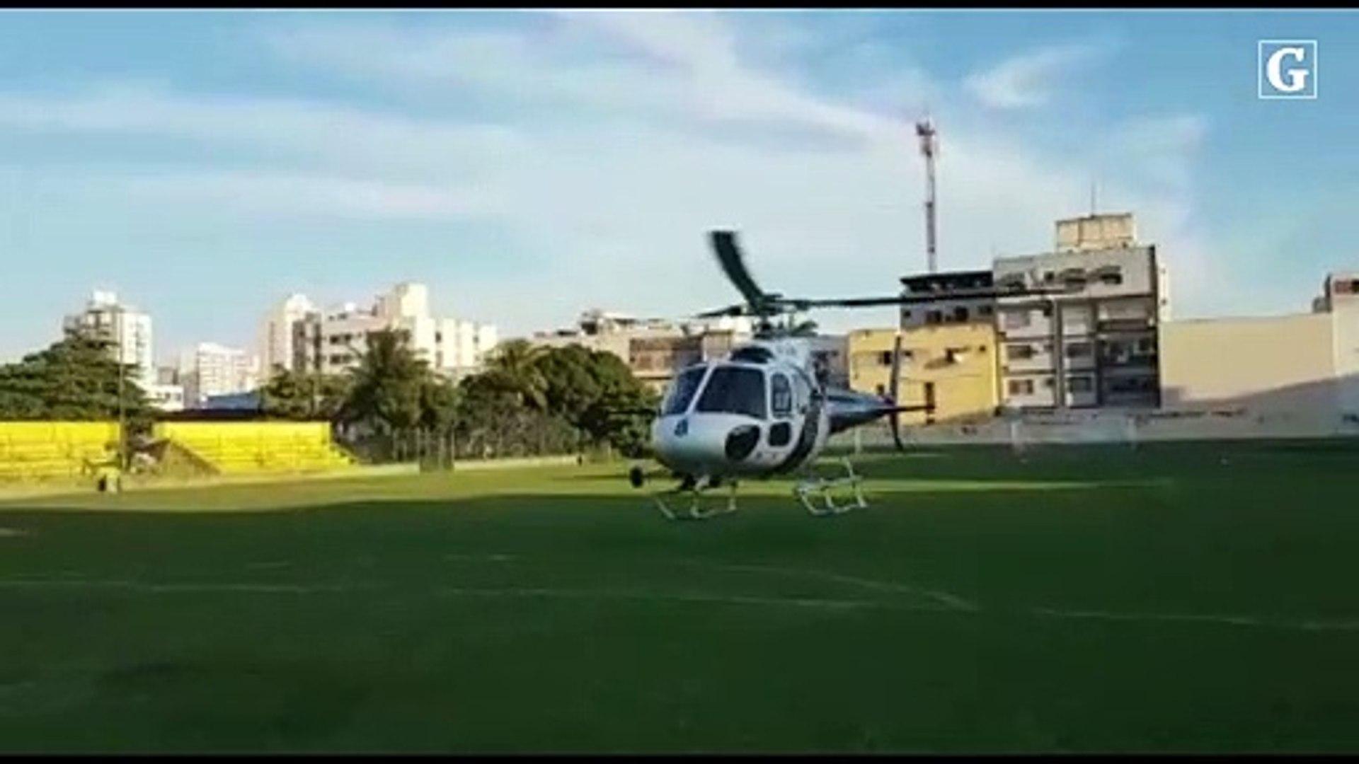 Cadela Beck chega de Colatina para auxiliar nas buscas de prédio que caiu em Vila Velha
