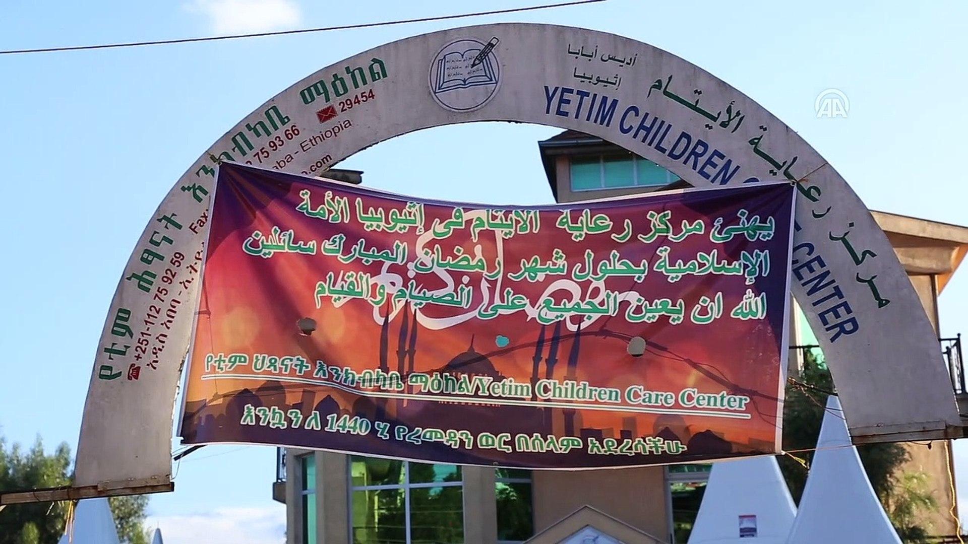 TİKA Etiyopya'da yetimleri unutmadı - ADDİS ABABA