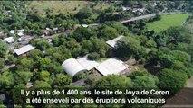 Découvertes sur le site archéologique de Joya de Ceren au Salvador