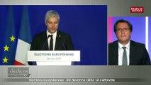« Emmanuel Macron a été l'artisan de la progression du RN » selon Laurent Wauquiez