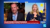 """Élections européennes : """"C'est un succès pour le Rassemblement National"""", Steeve Briois"""