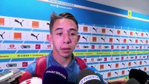 """OM-MHSC : Maxime Lopez """"j'ai tout fait pour aller à l'Euro"""""""