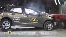 Doppelte Bestwertung im Euro NCAP Crashtest - Fünf Sterne für neuen Toyota Corolla und Toyota RAV4