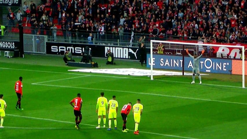 24/05/19 : SRFC-LOSC : penalty M'Baye Niang (16')