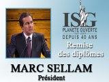 Remise des diplômes ISG 2008 - Discours de Marc Sellam - Président