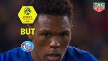 But Lebo MOTHIBA (60ème pen) / FC Nantes - RC Strasbourg Alsace - (0-1) - (FCN-RCSA) / 2018-19