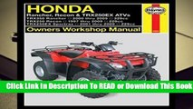 2004-2007 Honda TRX400 Rancher GPS Model ATV OE Dash Meter Speedometer Cover