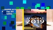 R E A D National Geographic Almanac 2019: Hot New Science
