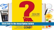 R.E.A.D Can China Lead?: Reaching the Limits of Power and Growth D.O.W.N.L.O.A.D
