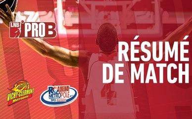 Résumé vidéo : J.A.VCM / Rouen (Pro B J34)