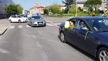 Gilets jaunes : concert de klaxons à Bourg-en-Bresse
