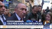"""Gérard Collomb sur le colis piégé à Lyon: """"on devrait pouvoir trouver un certain nombre de témoignages"""""""