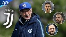 Maurizio Sarri prépare déjà sa future équipe à la Juventus, Eden Hazard fixe une deadline pour son départ au Real Madrid