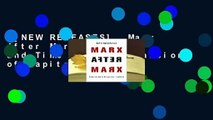[NEW RELEASES]  Marx After Marx History and Time in the Expansion of Capitalism