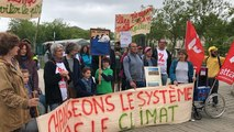 Trente personnes mobilisées pour le Printemps climatique