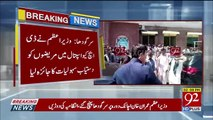 Imran Khan without protocol pays sudden visit at Sargodha's DHQ Hospital