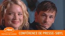 SIBYL - Conférence de presse - Cannes 2019 - VF
