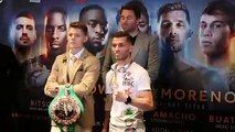 MAIN EVENT! - WBC CHAMP - CHARLIE EDWARDS v ANGEL MORENO *OFFICIAL* HEAD-TO-HEAD @ PRESS CONFERENCE