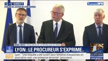 """Explosion à Lyon: le procureur de la République de Paris assure que l'acte """"n'a donné lieu à aucune revendication"""" pour le moment"""
