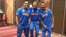 ICC Cricket World Cup 2019 : Shikhar Dhawan's Hilarious Attempt To Match Speeds Of Dhoni And Hardik