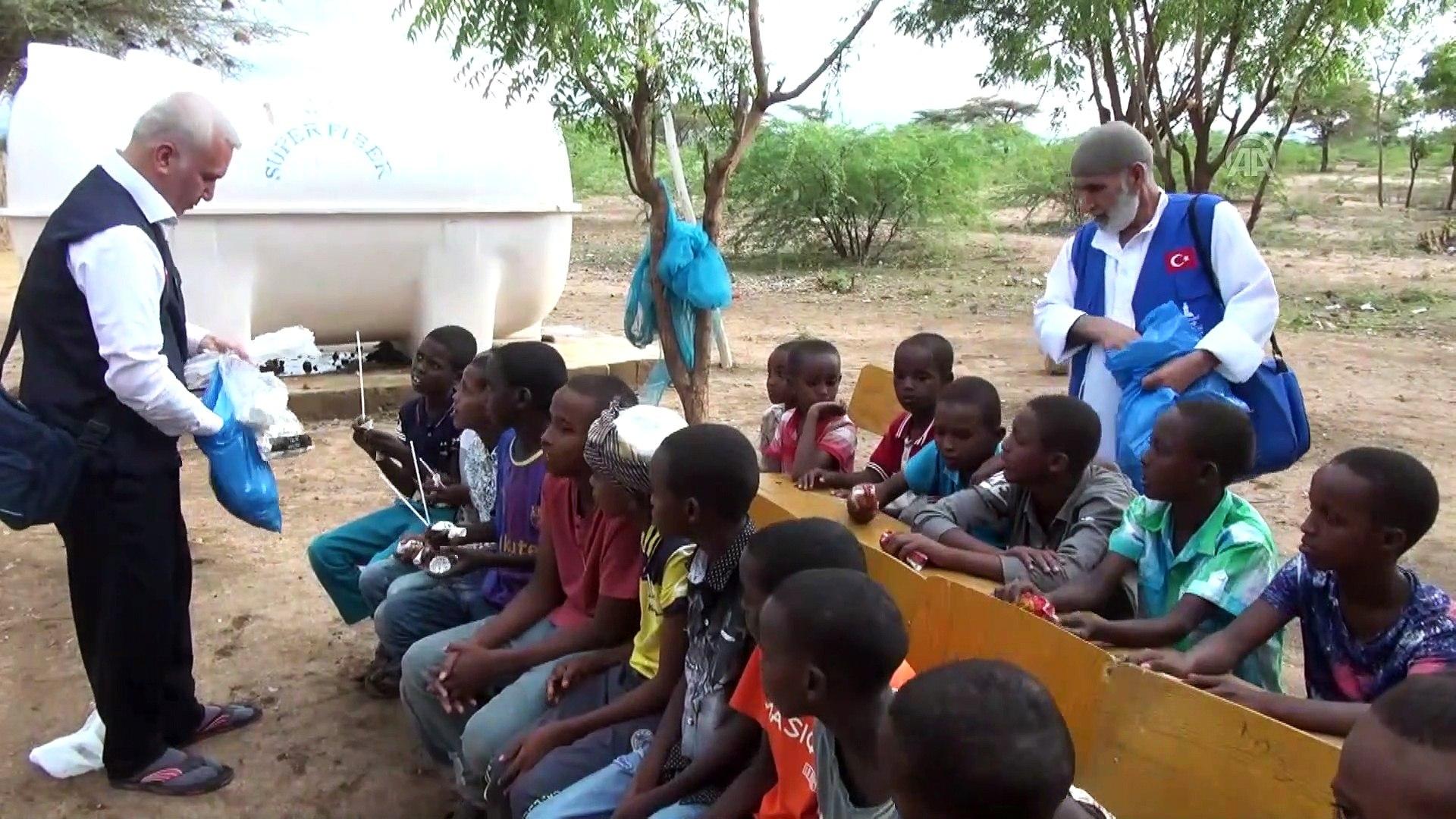 Savaş mağduru Somalili yetimlere Türkiye'den yardım eli - ADDİS ABABA
