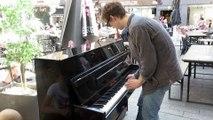 Des accords de piano animent le centre-ville de Remiremont
