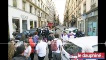 Une nord-iséroise, commerçante rue Victor-Hugo témoigne : « On a repris le travail ce matin avec la boule au ventre »