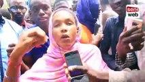 Affaire Adja Astou, des jeunes manifestent devant la 7 TV…