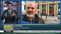 Protestas en Europa para exigir políticas contra el cambio climático