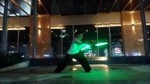 #SABER nunchaku & #LED nunchaku at KANCLUB côn nhị khúc