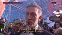 Vincent Cassel sur le tapis rouge pour le film Hors Normes - Cannes 2019