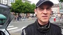 Rallye : réaction à chaud de Jean-Renaud Marchal vainqueur du rallye de Printemps à Saint-Dié