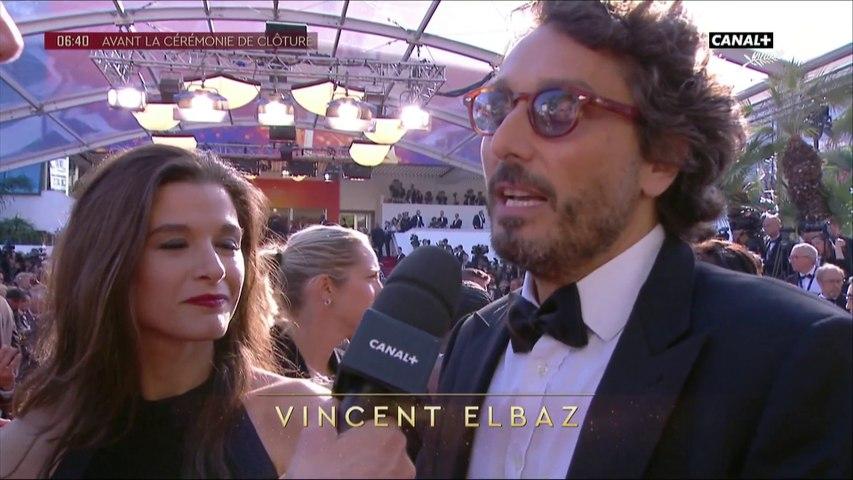 Vincent Elbaz est très heureux d'être là pour soutenir le film de ses amis  - Cannes 2019