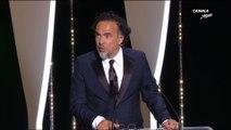 """"""" C'est difficile de donner si peu de récompenses """"  Alejandro G. Iñárritu - Cannes 2019"""