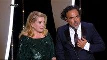 """"""" Alors que parfois la démocratie se perd, le jury l'a respectée """" Alejandro G Iñárritu -Cannes 2019"""