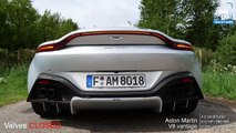 NEW! ASTON MARTIN VANTAGE V8 BiTurbo LOUD! EXHAUST SOUND TUNNEL REVS & ONBOARD by AutoTopNL