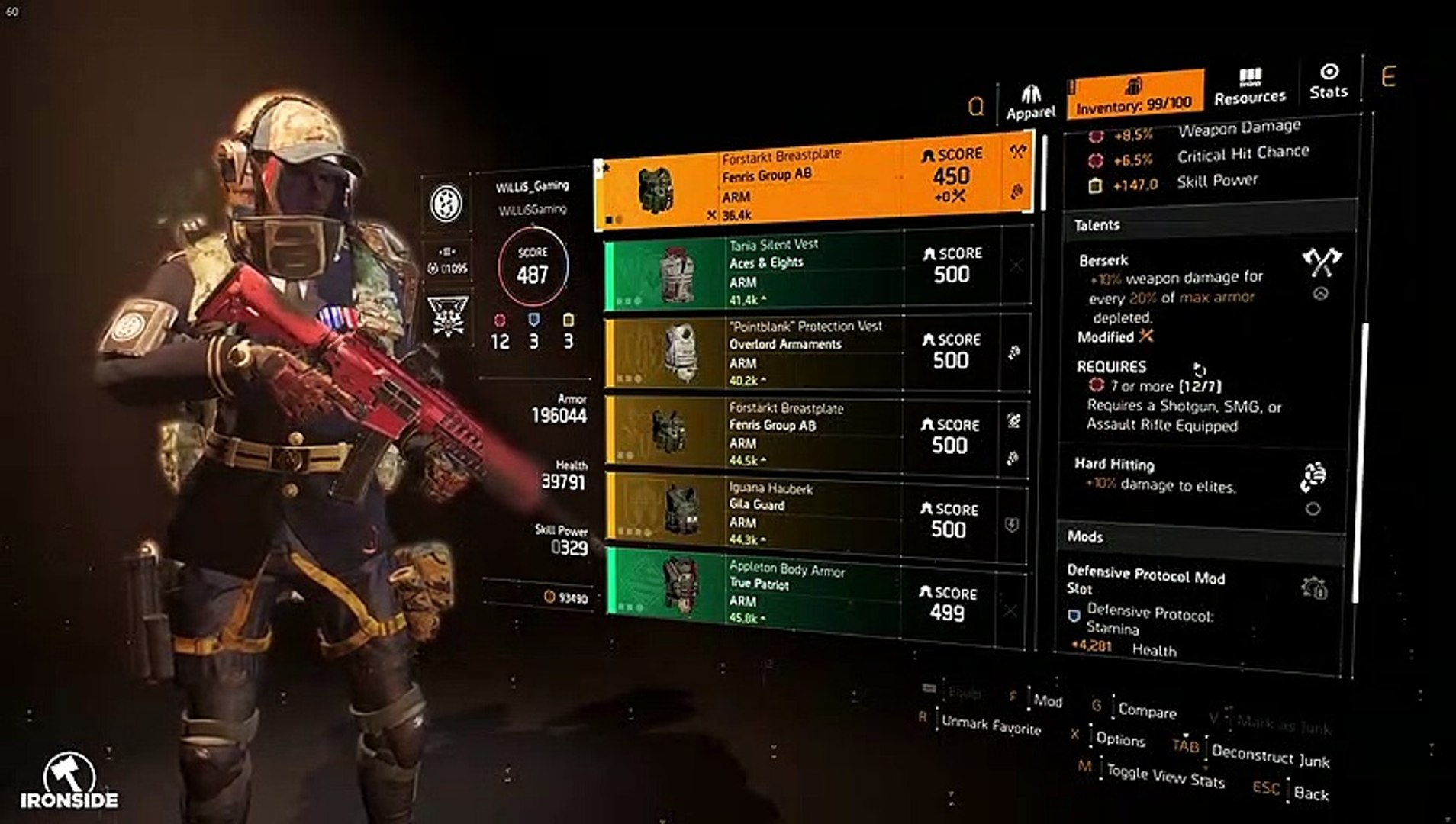 The Division 2 - *NEW* CRAZY AR RAID BUILD SOLO HEROIC !!