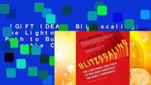 [GIFT IDEAS] Blitzscaling: The Lightning-Fast Path to Building Massively Valuable Companies